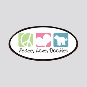 Peace, Love, Doodles Patches